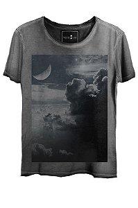 Camiseta  Estonada Gola Canoa Clouds