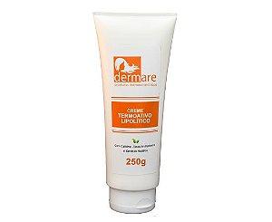Creme Anticelulite Termoativo Lipolítico Dermare 250g