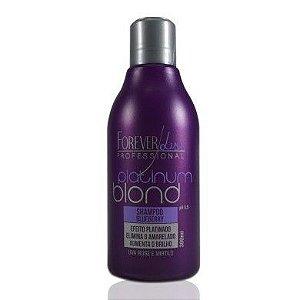 Forever Liss Shampoo Matizador Platinum Blond - 300ml