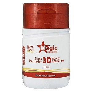 Gloss Matizador 3D Ruivos Magic Color - 100ml