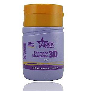 Magic Color Shampoo Matizador 3D - 100ml