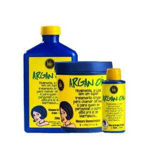 Kit Reconstrução Argan Oil Lola Cosmetics