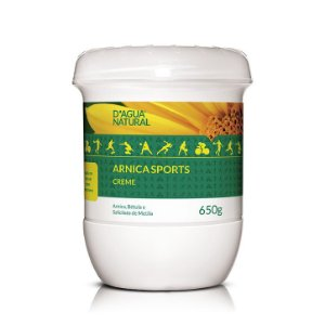 Arnica Sports D'agua Natural Creme de Massagem 650g