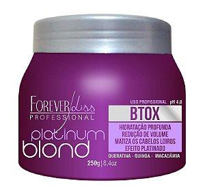 Platinum Blond Intensive Botox Matizador Forever Liss - 250g