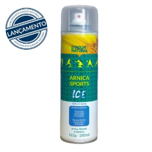 Arnica Sports Ice Gelo em Spray D'Água Natural - 280ml