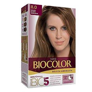 Tintura Biocolor Louro Claro Radiante 8.0