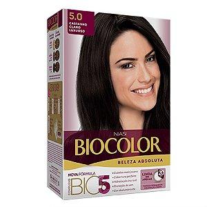Tintura Biocolor Castanho Claro Luxuoso 5.0