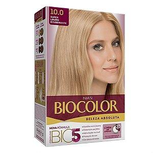Biocolor Kit Tintura Creme Super Louro Exuberante - 10.0