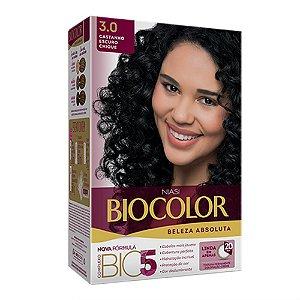 Tintura Biocolor Castanho Escuro Chique 3.0