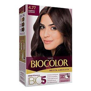 Tintura Biocolor Marrom Intenso 4.77