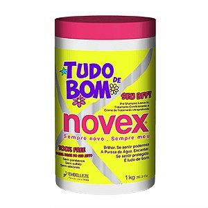 Creme de Tratamento 4 em 1 Tudo de Bom Novex - 1kg