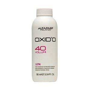 Alfaparf Oxidante Água Oxigenada Cremosa 40 Volumes - 90ml