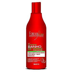 Shampoo Forever Liss Banho de Verniz Morango - 500ml