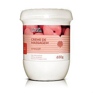 Creme de Massagem Des. e Hidratante Apricot D'Água Natural