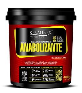 Mascara de Nutrição Anabolizante Keratinex - 400g