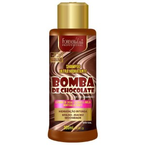 Shampoo Ultra Hidratante Bomba de Chocolate Forever Liss - 300ml