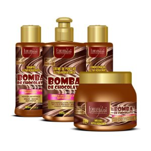 Combo Bomba de Chocolate Forever Liss - 4 Itens