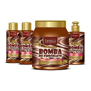 Kit Completo Bomba de Chocolate - Forever Liss