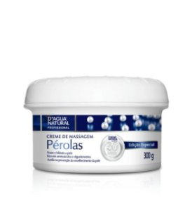 Creme de Massagem Pérolas D'agua Natural - 300g