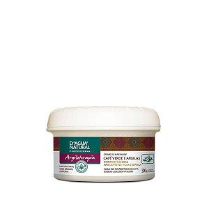 Creme Argiloterapia Café Verde e Argilas D'agua Natural  - 300g