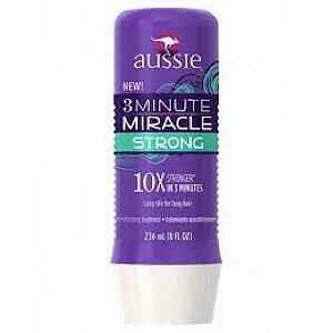 Aussie 3 Minute Strong Mascara Crescimento e Força - 236ml