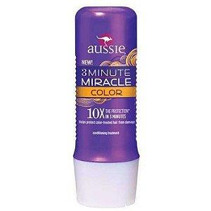 Aussie 3 Minute Color Mascara Cabelos c/ Coloração - 236ml
