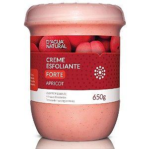 D'agua Natural Creme Esfoliante Apricot Forte Abrasão 650g