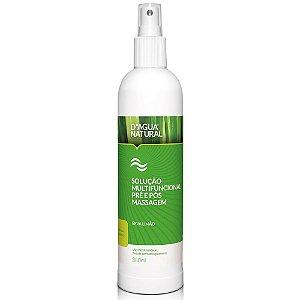 Solução Multifuncional D'Agua Natural Pré e Pós Massagem Erva Limão 380ml
