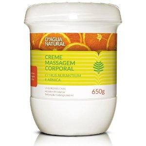 Creme de Massagem Drenagem Linfática Citrus D'agua Natural - 650g
