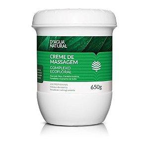D'Agua Natural Creme de Massagem Complexo Ecofloral 650g