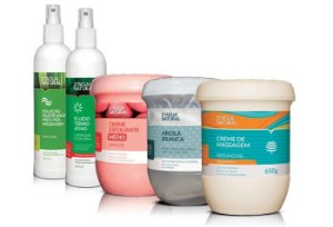 D'agua Natural Kit Massagem Model Redutora