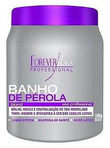 Forever Liss Banho de Pérola Loiro Brilhante 1kg