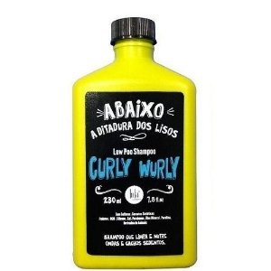 Lola Cosmetics Curly Wurly Shampoo Low Poo Cacheados - 230ml