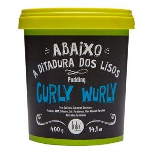 Lola Cosmetics Curly Wurly Pudding Cabelos Cacheados 400g