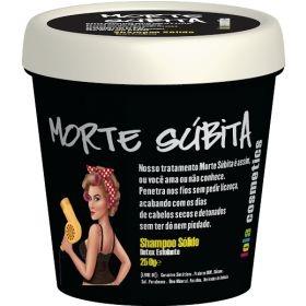 Lola Morte Súbita Shampoo Sólido Detox Esfoliante 250g - Lola Cosmetics