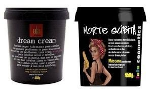 Dream Cream e Morte Subita Kit Máscara Lola - 450g