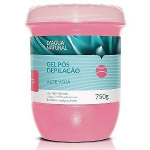 Gel Pós Depilação Aloe Vera - D'agua Natural 750g