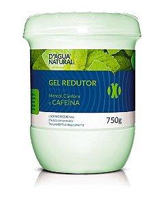 Gel Redutor de Medidas e Gordura D'agua Natural c/ Cafeína 750g