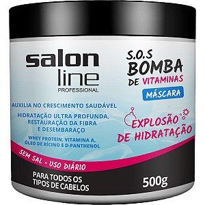 Máscara S.O.S Bomba de Vitaminas 500 g - Salon Line