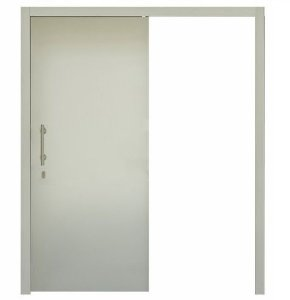 TRILHO CORRER PET BRANCO Sobreposto com Trilho 2 m (Porta não inclusa)