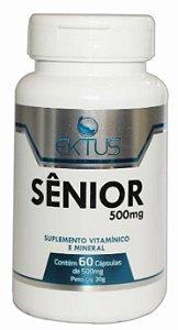Senior Estimulante Natural - Similar Do Fort San - (Para melhor resultado faça o tratamento em 3 meses.  Compre 3 frascos e tome 2 cápsulas toda manhã).