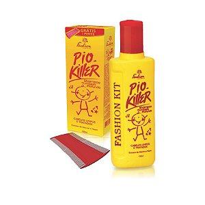 PIO KILLER (Fashion Cosméticos - O Shampoo contém o ativo extrato natural de Neem, que age na prevenção de fungos, caspa e piolhos nos cabelos.)