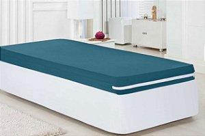 CAPA COLCHÃO SOLTEIRO - MALHA GEL (Golden Têxtil - A Capa de colchão em malha 100% algodão traz a maciez do algodão para sua cama.)