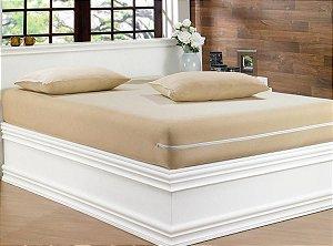 CAPA COLCHÃO KING - MALHA GEL (Golden Têxtil - A Capa de colchão em malha 100% algodão traz a maciez do algodão para sua cama.)
