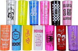 Copo Long Drink (Copos personalizados para festas ou brindes)