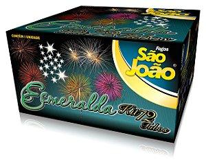 Kit Girandola Esmeralda (72 Tubos - 1.800 Tiros)
