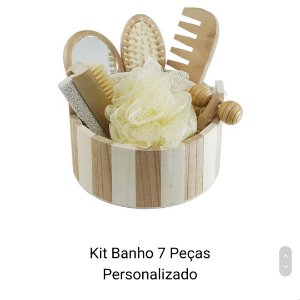 Kit Banho 7 Peças