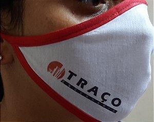 Máscara em Tecido Personalizada (Logo da sua Empresa)