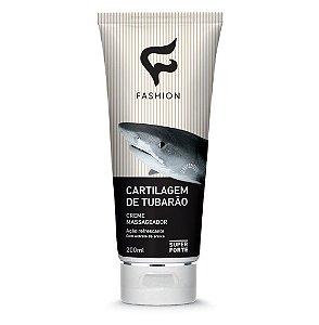 GEL CARTILAGEM DE TUBARÃO (Fashion Cosméticos - Elaborado com cartilagem de tubarão, e extrato de Arnica. Seu uso oferece absorção rápida trazendo a sensação de bem estar e conforto.)