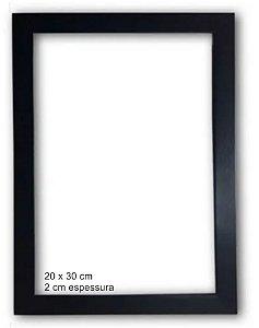 Moldura Madeira 20 x 30 cm (para quadros)